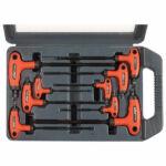 EXTOL PREMIUM torx kulcs készlet, 9 db, T-nyelű, CV, kofferben