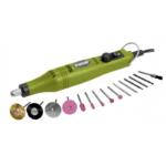 EXTOL CRAFT mini köszörű és fúrógép, tartozék készlettel (404122)