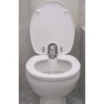 Toilette-Nett bidés WC ülőke, antibakteriális duroplast műanyag
