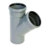 PVC ág 40/40/45 szennyvíz lefolyócsőhöz