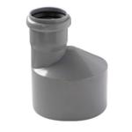 PVC idom szennyvíz lefolyócsőhöz, 110/50 szűkítő