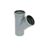 PVC ág 110/110/45 szennyvíz lefolyócsőhöz