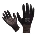 BUNTING BLACK kötött kesztyű, nylon, fekete, M-es méret (865106)