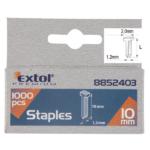 EXTOL PREMIUM szeg fejjel, profi tűzőgéphez, 1000db, 2,0x1,2mm