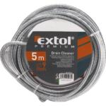 EXTOL PREMIUM lefolyócső tisztító, átmérő 9mm, 3m (8859022)