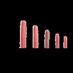 STYRON Műanyag tipli, szögletes, 10mm (100db/csomag)