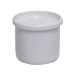 Styron PVC tokelzáró fehér dugó, átmérője 40mm (STY-40)
