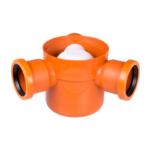 STYRON szuezszifon (padlószifon), háromágú, golyós bűzzárral (STY-503-3)