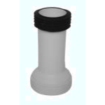 STYRON WC bekötő, egyenes, hosszú, 90mm (STY-530-90-EH)