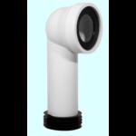 STYRON WC bekötő könyök, 90mm (STY-530-90)