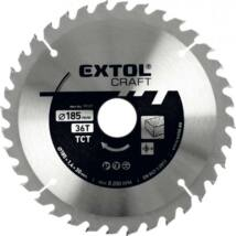 EXTOL CRAFT körfűrészlap, keményfémlapkás, 2,5 mm, 185×30mm