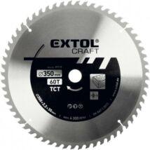 EXTOL CRAFT körfűrészlap, keményfémlapkás, 3,5 mm lapkaszélesség