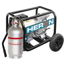 HERON EMPH 80 WG benzin-gázmotoros zagyszivattyú, 6,5 LE