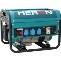 HERON EGM-25 AVR benzinmotoros áramfejlesztő, egyfázisú