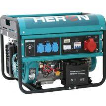 HERON EGM-60 AVR-3E benzinmotoros áramfejlesztő, háromfázisú, önindítóval