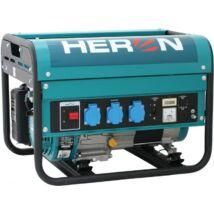 HERON EGM-30 AVR benzinmotoros áramfejlesztő, egyfázisú, 2800 VA