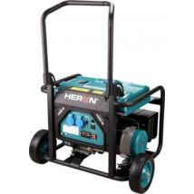 HERON benzinmotoros áramfejlesztő, egyfázisú, 3 kVA