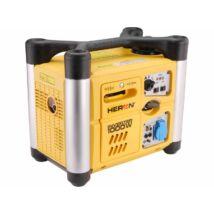 HERON DGI-10SP benzinmotoros áramfejlesztő, egyfázisú, inverteres