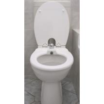 Toilette-Nett bidés WC ülőke, polieszter-műgyanta