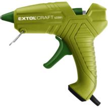 EXTOL CRAFT melegragasztó pisztoly, 40W, egyszínű zöld