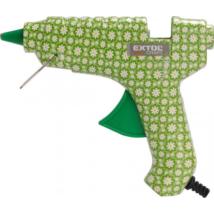 EXTOL CRAFT melegragasztó pisztoly, virágmintás, 40W (422100)