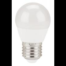 EXTOL LIGHT LED gömb izzó, villanykörte, E27, meleg fehér, 5W, 410 lumen