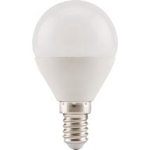 EXTOL LIGHT LED gömb izzó, villanykörte, E14, meleg fehér, 5W