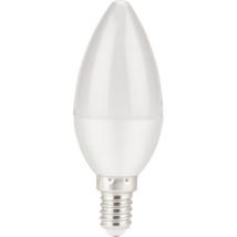 EXTOL LED gyertya izzó, E14, meleg fehér, 5W, 410 lumen