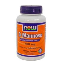D-mannose 500mg, 120db NOW