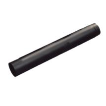 Füstcső, 120-as, 40cm, fekete