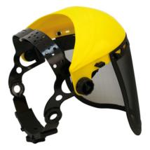 PC dróthálós arcvédő pajzs