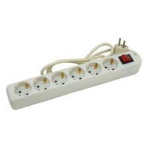 EXTOL CRAFT villamos elosztó, hosszabbító, beltéri, 6-os