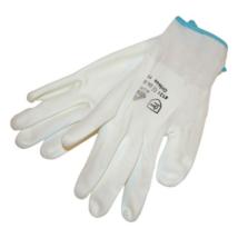 BUNTING kötött kesztyű, nylon, fehér, XL-es méret (865103)