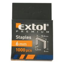EXTOL tűzőgépkapocs, profi, 1000db, 10,6x1,2x0,52mm