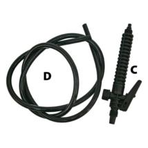 Kiegészítő pisztoly (Extol Craft 92602, 92603) permetezőkhöz