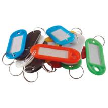 EXTOL CRAFT műanyag kulcscímke, kulcskarikával