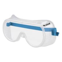 EXTOL CRAFT védőszemüveg, víztiszta, CE, gumis fejpánttal (97303)