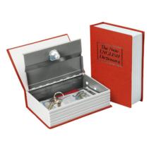 Pénzkazetta, könyv alakú, rejtett, 245x155x55mm