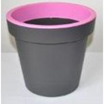 BICOLOR műanyag kaspó, pink