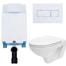 Egységcsomag NIAGARA, WC tartály, nyomólap, lecsapódásgátló ülőke