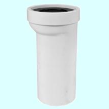 STYRON WC bekötő, egyenes, 20 cm eltolással, átmérő 110mm