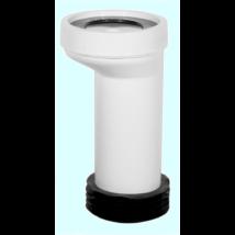 STYRON WC bekötő 20mm eltolással, hosszú