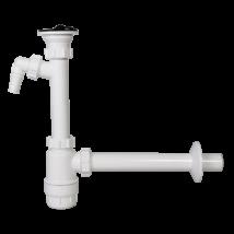 STYRON mosdószifon, 5/4col, 32mm elfolyással, mosógép-csatlakozóval
