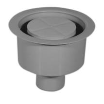 STYRON padlószifon (szuez), alsókifolyású, 50mm-es becsatlakozással (STY-600-50)