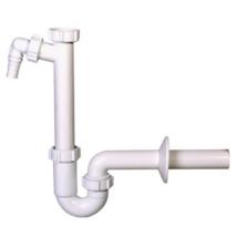 STYRON mosdó csőszifon, 32mm, mosógép-csatlakozóval (STY-638-32-2)