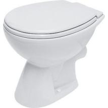 WC csésze laposöblítésű, hátsó kifolyású, Cersanit