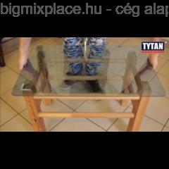 Tytan Classic FIX, szerelési ragasztó, láthatatlan, üveghez ideális