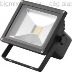 EXTOL LIGHT hordozható LED lámpa (reflektor), két fényerő fokozattal, max. 20W, 1400lumen (43125)