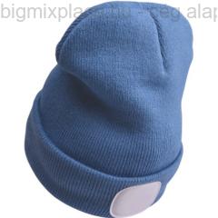 tt sapka, kivehető LED homloklámpával, kék (43191)