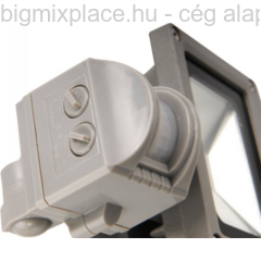 EXTOL LIGHT falra szerelhető LED lámpa, reflektor, mozgásérzékelővel, 10W (43211)